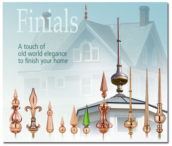 Roof Caps And Finials