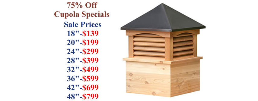 Annapolis weathervanes and cupolas for Cupolas for sale lowes